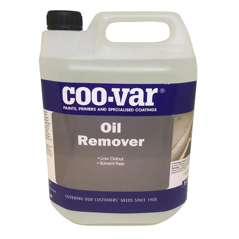COO-VAR WATER BASED OIL REMOVER 5 L PRODUCT CODE 7OPT