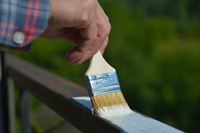 Procedure When Preparing to Paint Metal & Wood