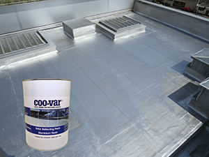 New And Improved Solar Reflective Aluminium Coo Var