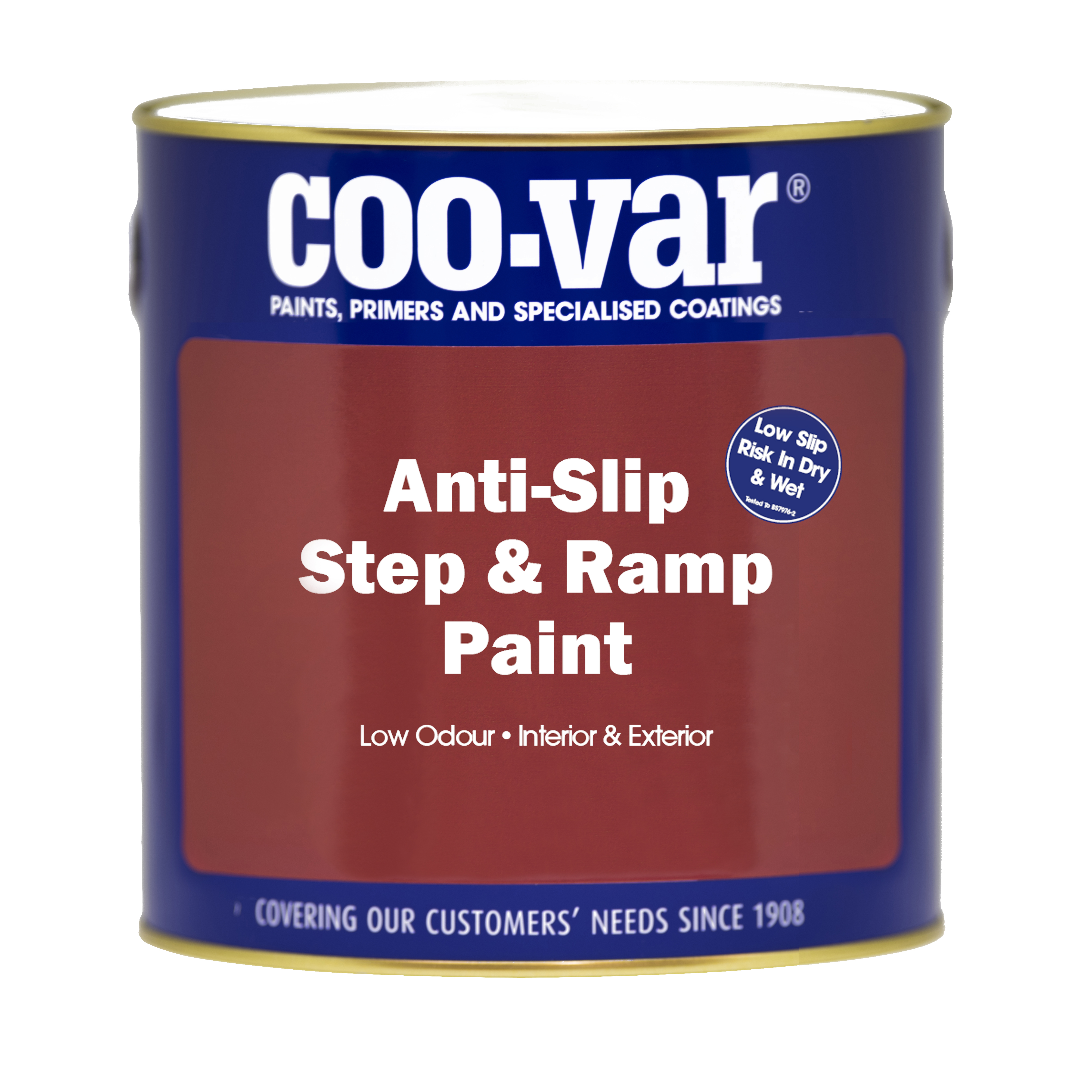 ANTI-SLIP STEP and RAMP PAINT  GREY 1L           ******   NEW PRODUCT   ******