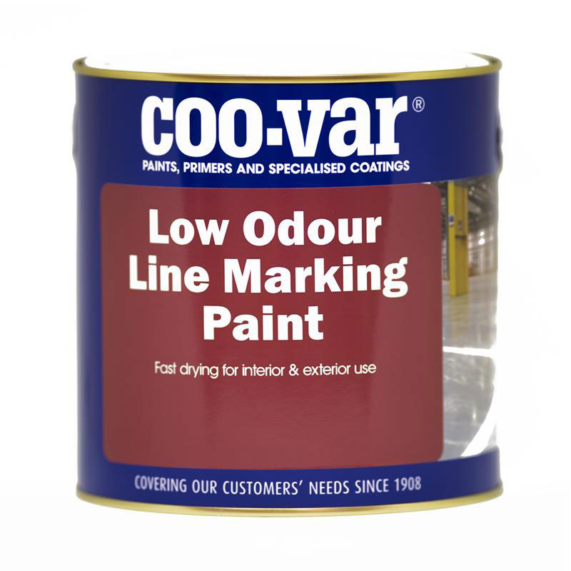 LOW ODOUR LINE MARKING PAINT WHITE 2.5L