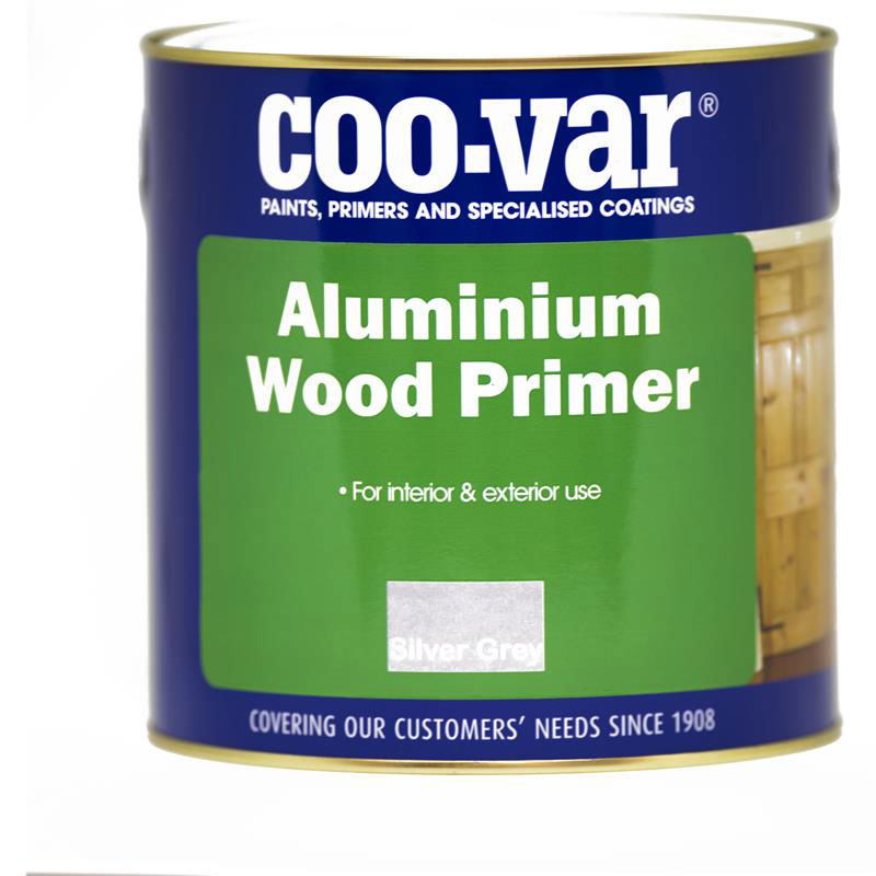 COO-VAR ALUMINIUM WOOD PRIMER  500ml