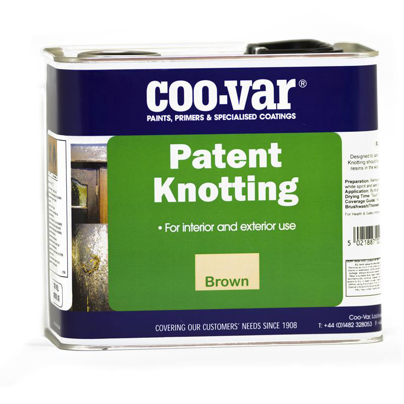 COO-VAR PATENT KNOTTING           250ml LEVER LID TINS
