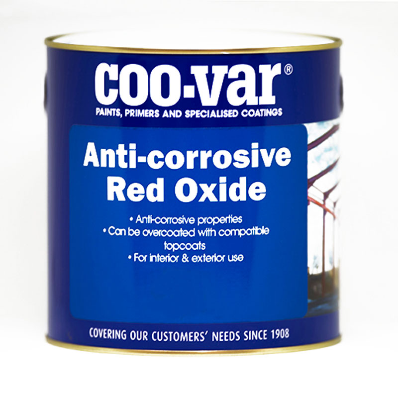 COO-VAR ANTICORROSIVE RED OXIDE  1 LITRE               *******CHECK LABELS*********