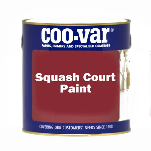 SQUASH COURT PAINT WHITE 5 LITRE