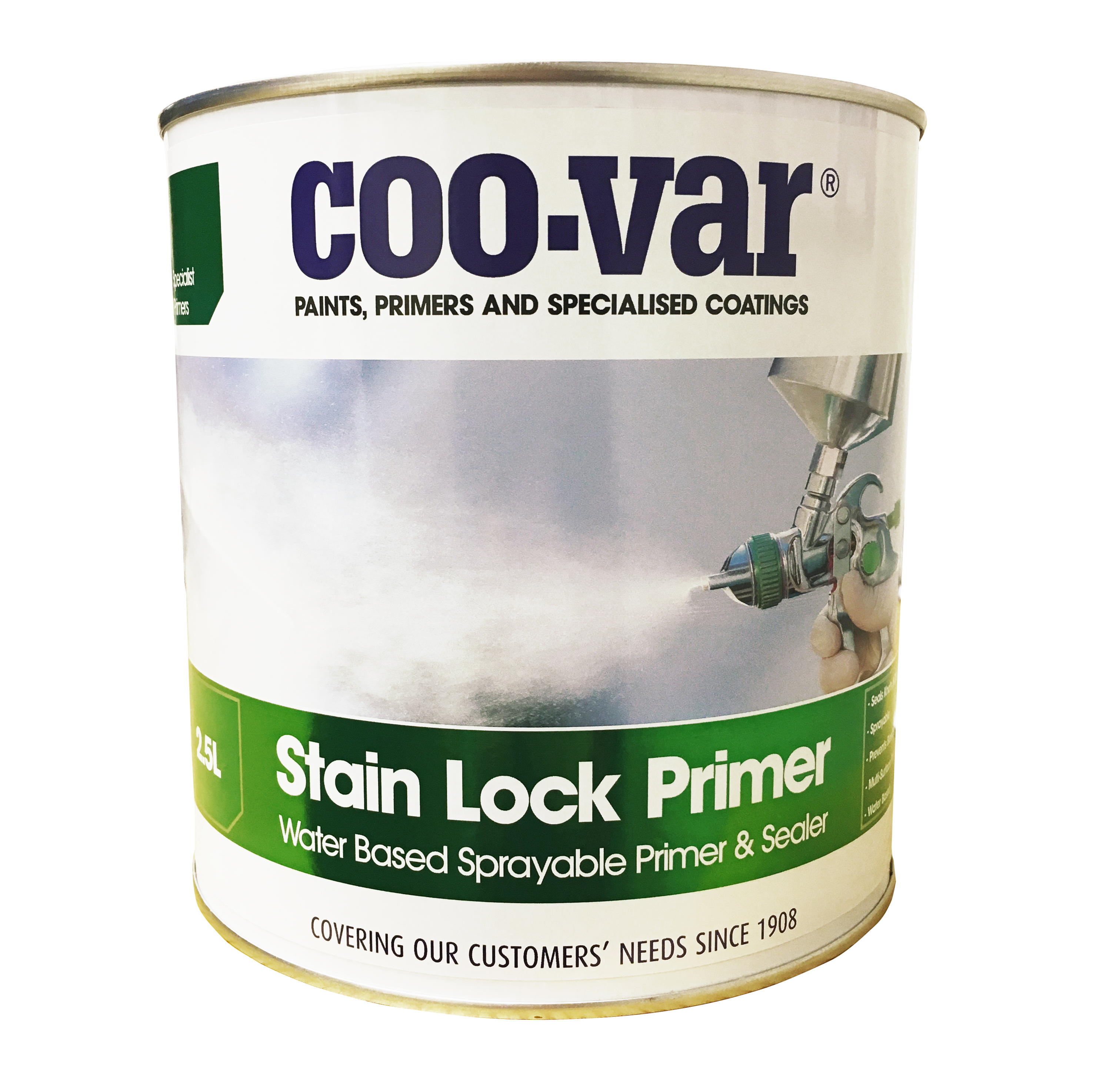 STAIN LOCK SPRAYABLE PRIMER  250 ML           ******   NEW PRODUCT   ******