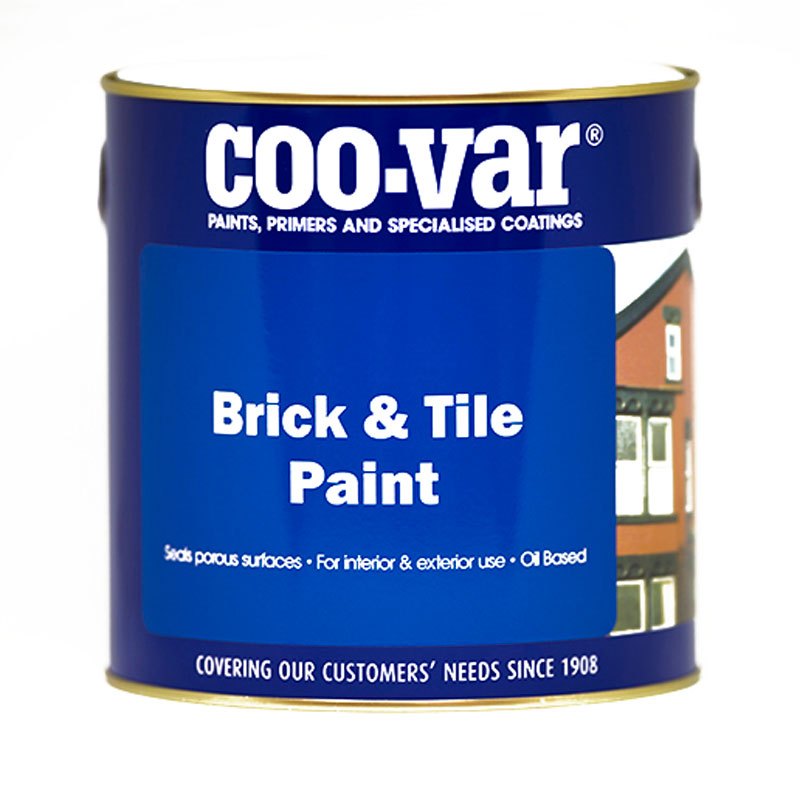 BRICK and TILE PAINT GLOSS RED 1 LITRE               *******CHECK LABELS*********