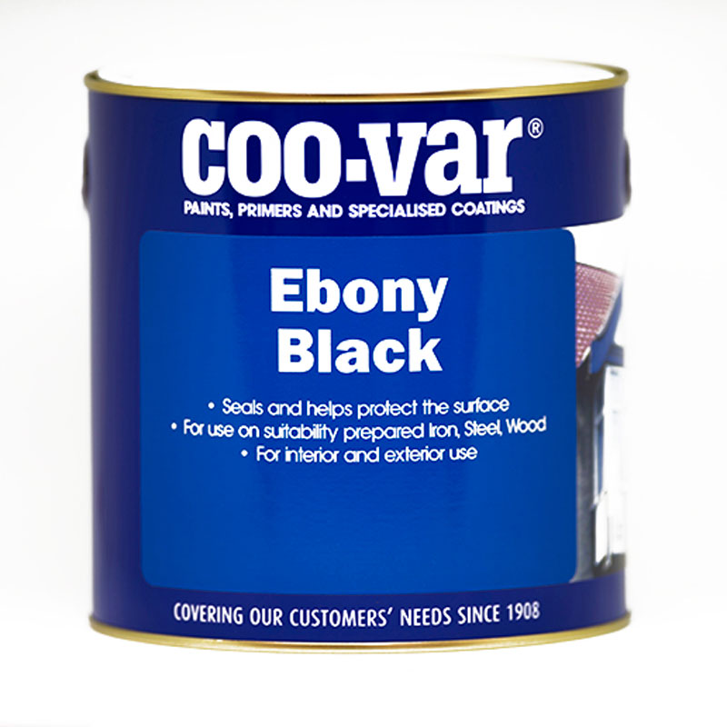 COO-VAR EBONY BLACK 500MLS