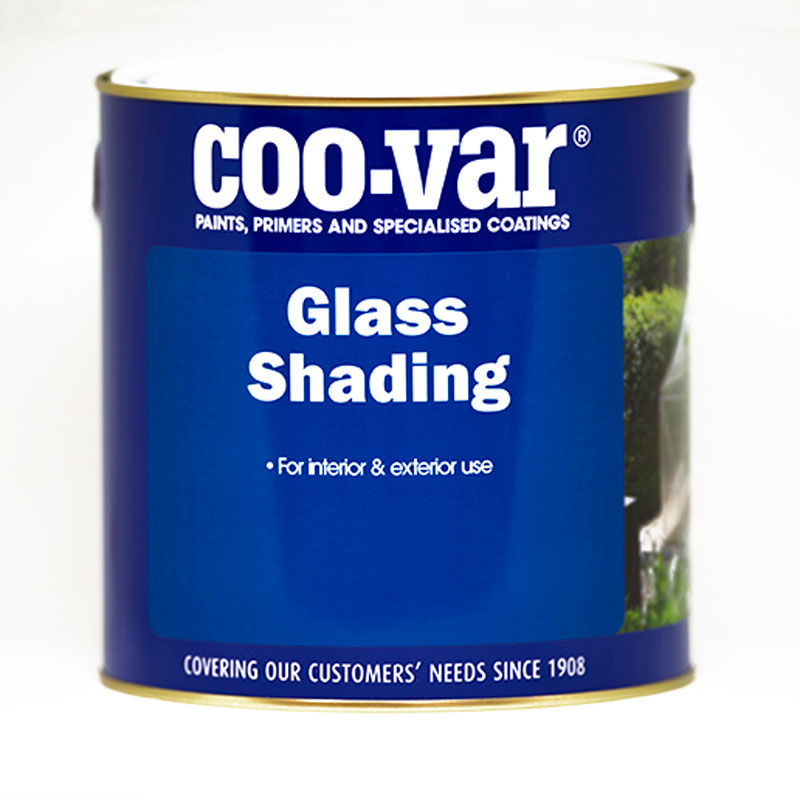 COOVAR GLASS SHADING WHITE 2.5 LITRE