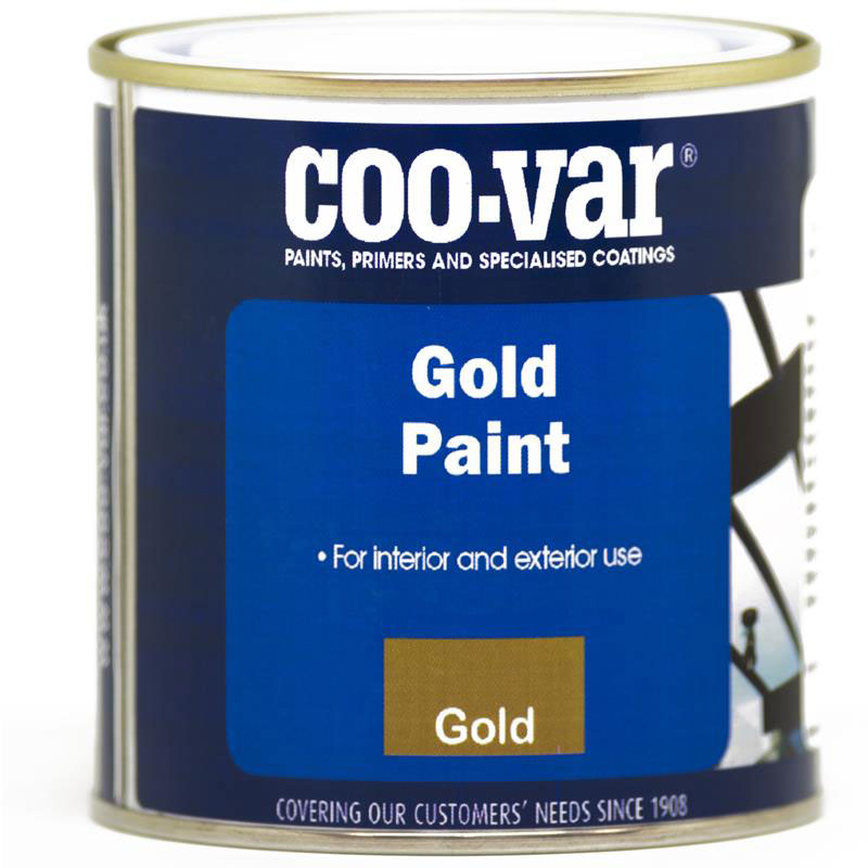 COO-VAR GOLD PAINT 250 ML