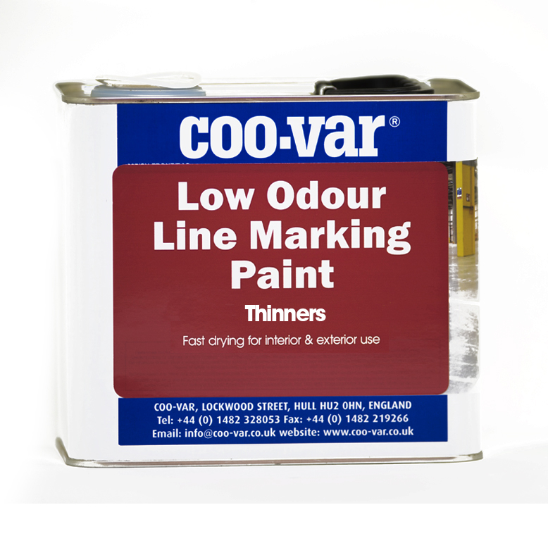 LOW ODOUR ROAD LINE THINNERS  2.5 LITRE TACTILE REQUIRED